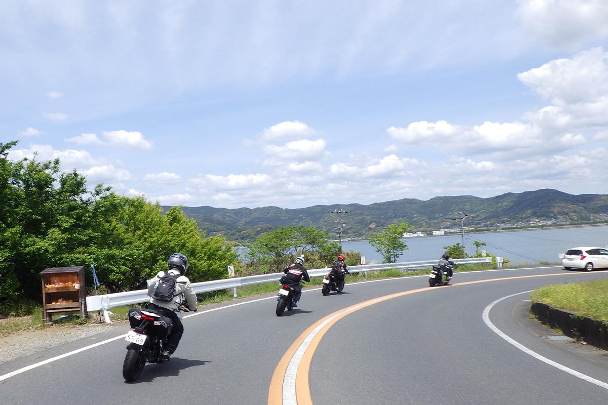 日本初の「電動バイクオーナーツーリング」その1
