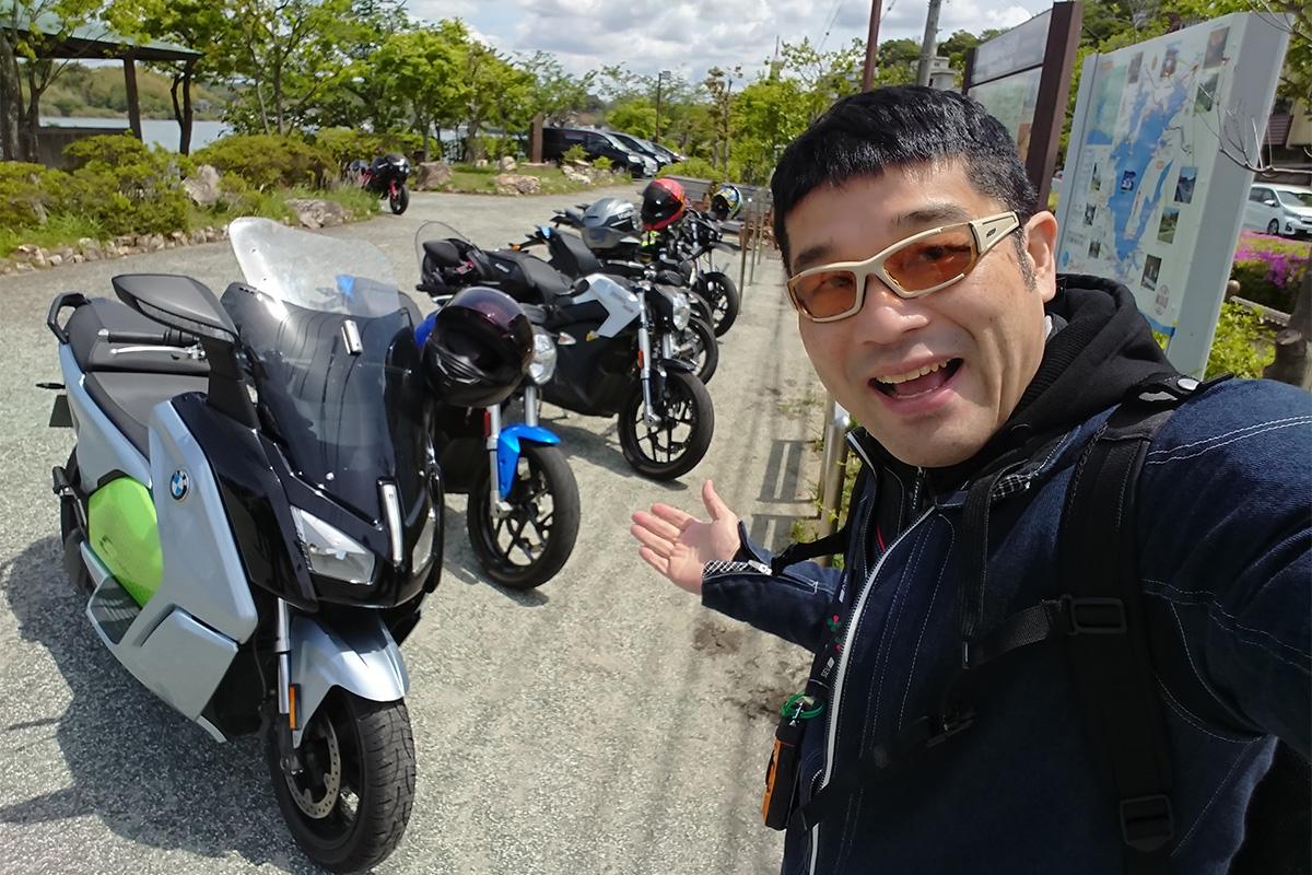 日本初の「電動バイクオーナーツーリング」その2