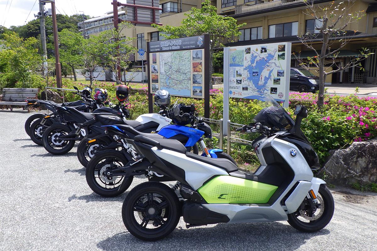 日本初の「電動バイクオーナーツーリング」その3