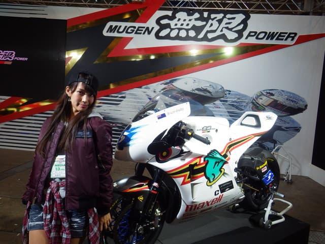 【スパ太郎コラム】<br />&nbsp;&nbsp;最高速250km/hオーバー。「TEAM 無限」の電動バイク!